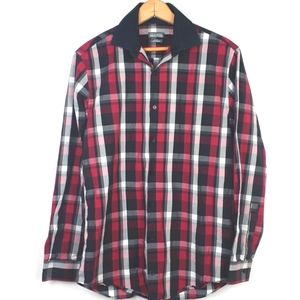 Kenneth Cole Reaction Slim Fit Button Down Shirt